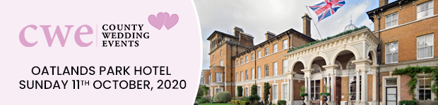 Register now for this Surrey wedding show in Weybridge