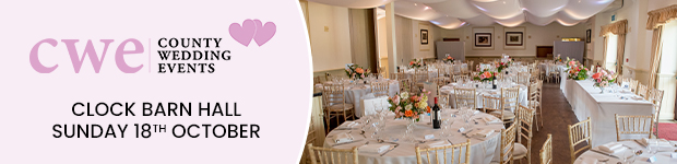 Register now for this Surrey wedding show in Godalming