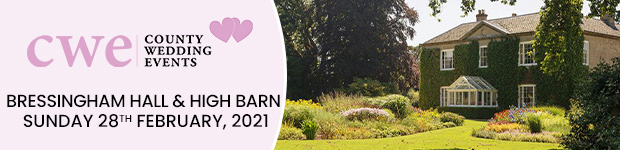 Register now for this Norfolk wedding show in Diss