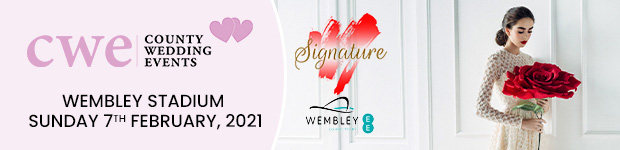 Register for Signature Wedding Show at Wembley Stadium