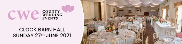 Register for Clock Barn Hall Wedding Show