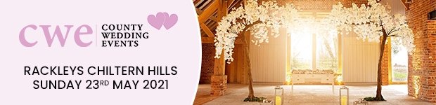 Register for Rackleys Chiltern Hills Wedding Show