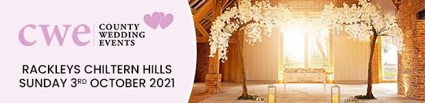 Register for Rackleys Chiltern Hills Wedding Show