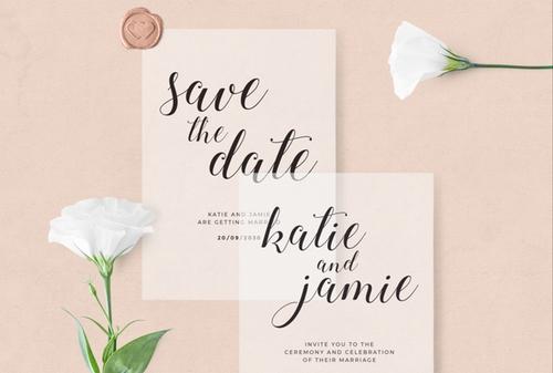 Wonder Wedding Stationery image